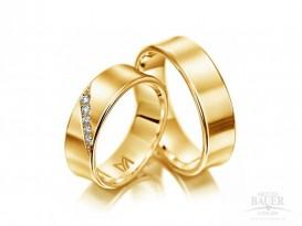 Trauringe Partnerringe Gelbgold 585/000
