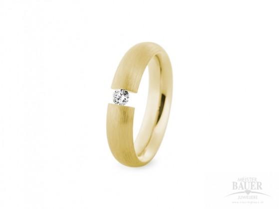 Verlobungsring Spannring Gelbgold 585/000