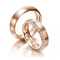 Eheringe rosegold  Wissenswertes über Trauringe, Eheringe, Verlobungsringe