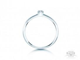 Verlobungsring Silber Antragsring 925/000