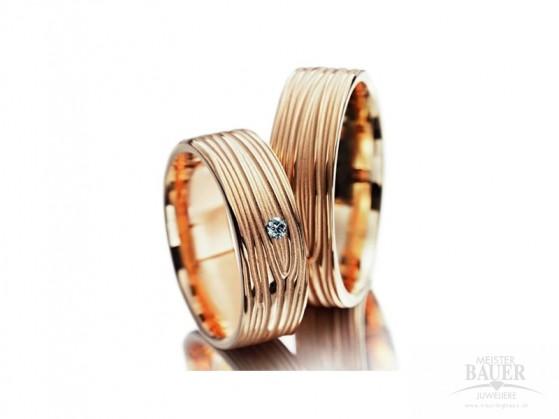 Partnerringe Trauringe Rotgold 750/000
