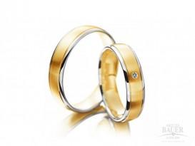 Trauringe Partnerringe Gelbgold Weißgold 585/000