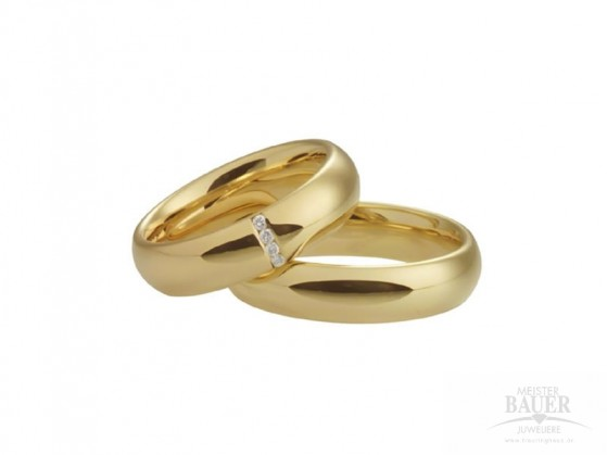 Trauring gold 750