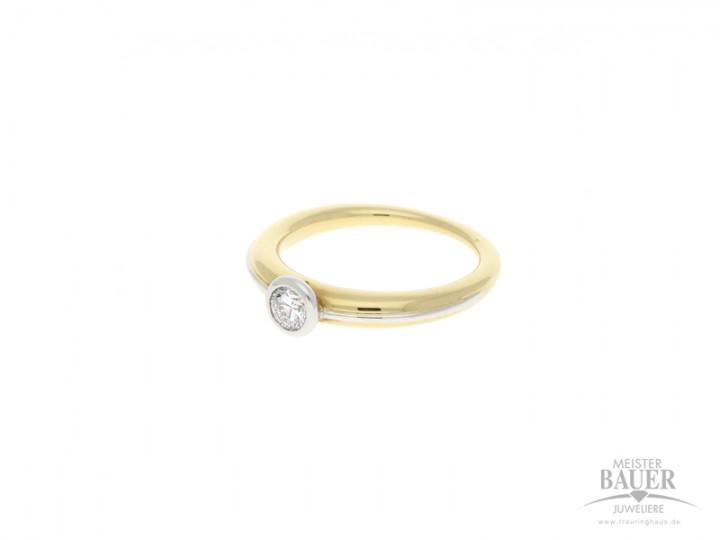 Verlobungsring Gelbgold 750/-