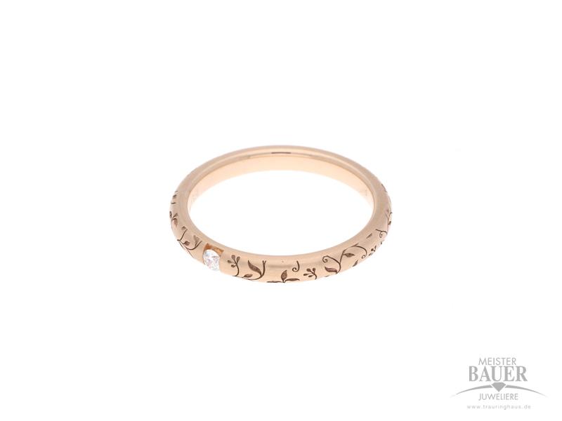 Verlobungsring Rotgold 585/-