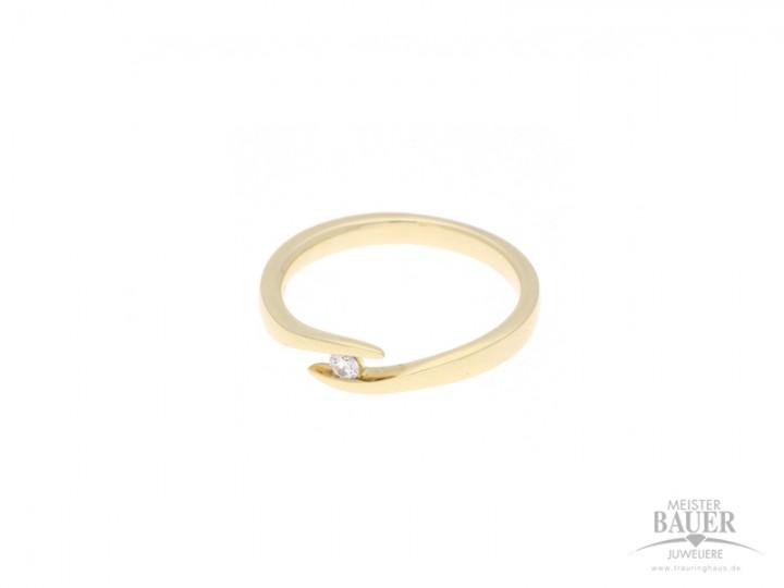 Verlobungsring Gelbgold 585/-