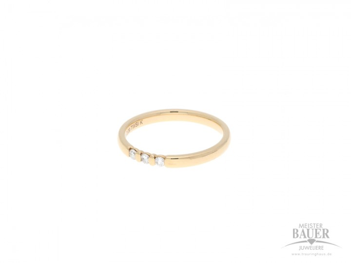 Memoirering Rotgold 750/-